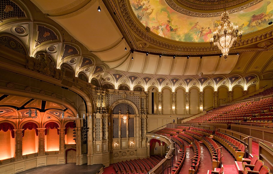 Orpheum auditorium from Dress Circle